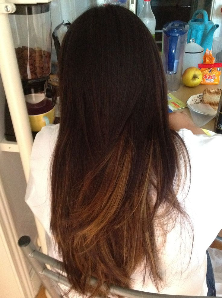 Mechas californianas #mias