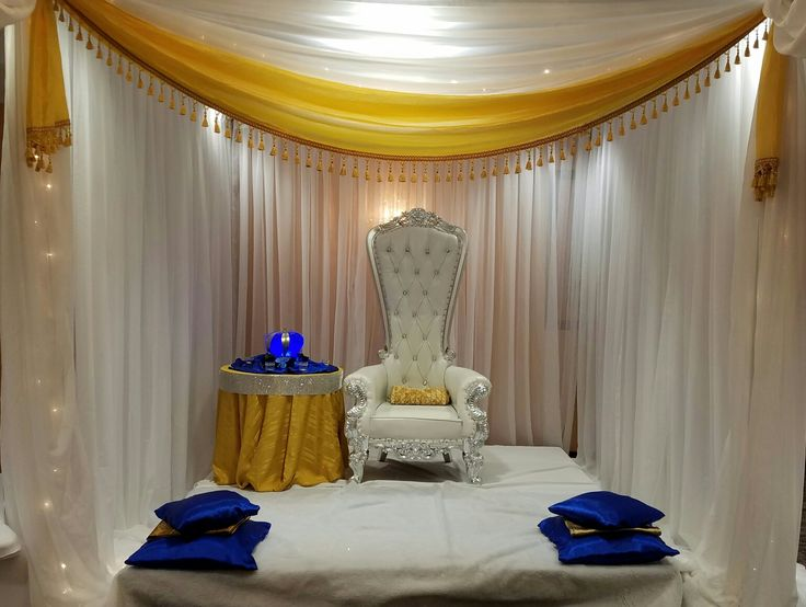 royal blue and gold baby shower