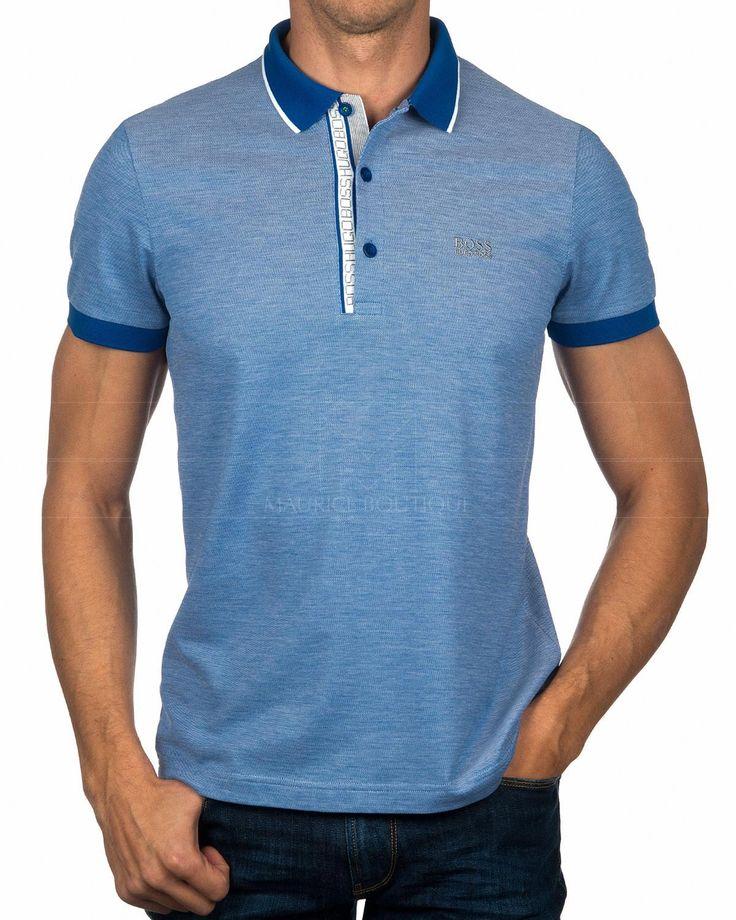 Polos HUGO BOSS ® Hombre Azul Marino - Paule | ENVIO GRATIS