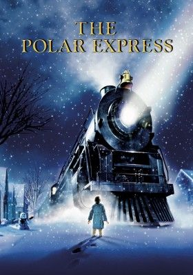 The Polar Express movie poster --- an awesome movie for kids of all ages and for the kid inside all of us :)