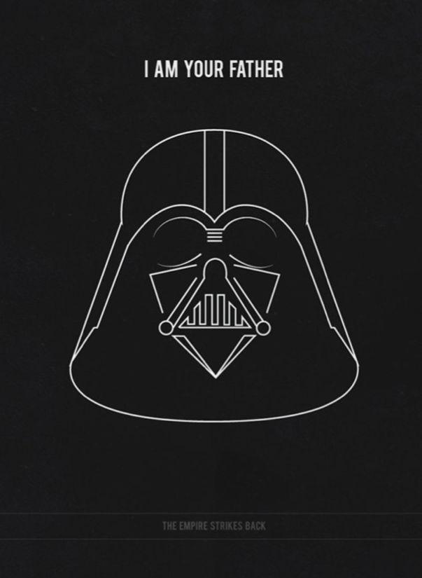 Star Wars: Episode V - The Empire Strikes Back (1980) ~ Minimal Movie Poster by Kate Syska #amusementphile