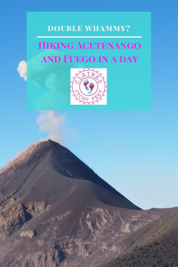 If you are planning a trip to Guatemala you need to hike a volcano(or two). Depending on your level of fitness you may decide to opt for the easy option and hike Pacaya. If you want something a bit more challenging you should hike Acatenango. But if you a