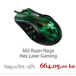 Miš Razer Naga Hex Laser Gaming