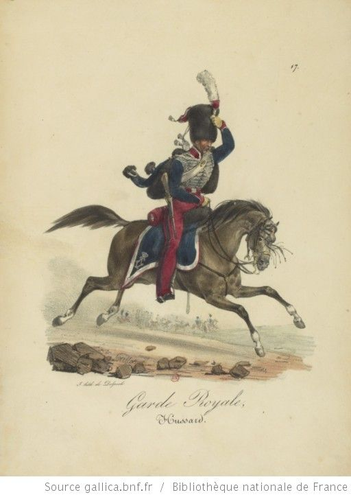 [Maison du Roi et garde royale de Louis XVIII, 1817.] / Ch. Aubry - 22