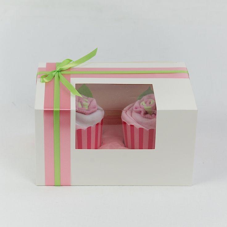Pink Baby Girl Cupcakes!
