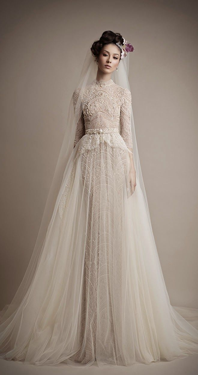 Vintage pearl bridal blog real brides news amp updates wedding - Ersa Atelier 2015 Bridal Collection