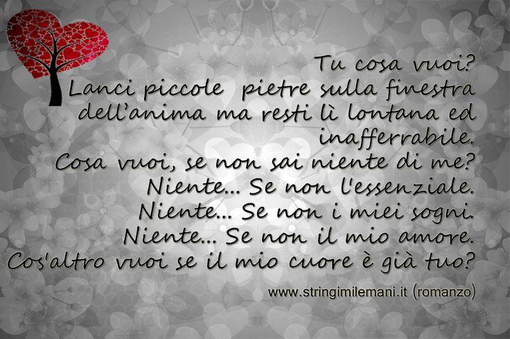 Image on Stringimi le mani http://www.stringimilemani.it/social-gallery/tu-cosa-vuoi
