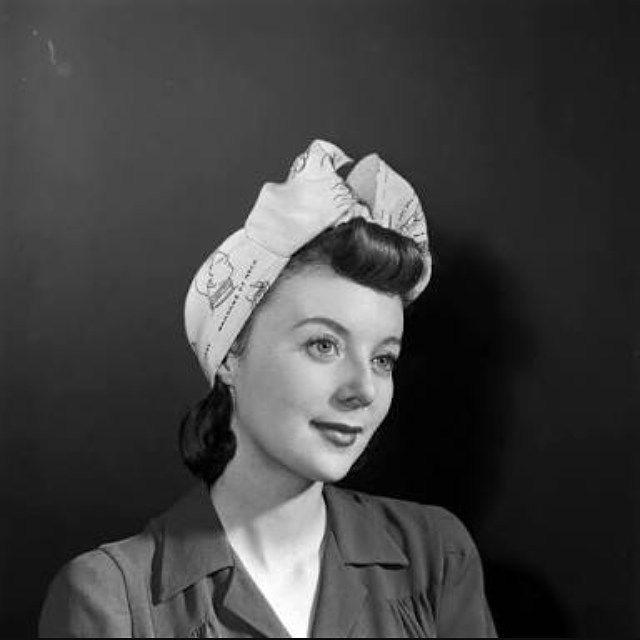 #1940s #turban #headwrap #headscarf