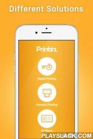 Prinbiz  Android App - playslack.com ,  重點功能*快速的無線列印體驗*設定安全WiFi連線*支援多重照片來源(手機拍照、手機相簿、記憶卡)*支援多款證件照列印與編輯(生物線、濾鏡、色彩調整)*支援照片編輯(邊框、濾鏡、照片與色彩調整)*支援英文、繁中、簡中、葡萄牙文、西班牙文*支援亮面與霧面照片列印選擇*支援列印照片時的多選模式*支援作業系統Android 4.0.3(含)以上*支援HiTi印相機P520L, P750L, P310W, P530D*支援點對點(Ad-hoc Mode)與路由器(Infra Mode)連線模式*支援印相機韌體更新*更多功能敬請期待! Belangrijkste kenmerken* Snel draadloos printen ervaring* Stel Secure WiFi-verbinding* Ondersteuning voor meerdere foto bron (mobiele telefoon met camera, mobiele telefoon fotoalbums…