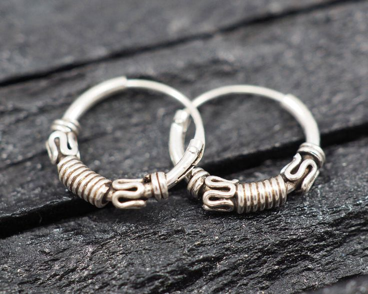 A personal favorite from my Etsy shop https://www.etsy.com/listing/526250746/12mm-bali-hoop-earrings925-sterling