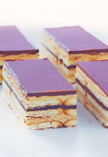 Comment faire des Opéra, ces gâteaux au chocolat super chics, avec des ingrédients super simples ?