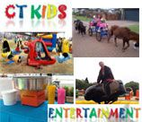 CT Kids Entertainment will entertain your children at your functions with these fantastic rides. CT Kids Entertainment also has various other equipment for hire i.e. Popcorn, Candyfloss machines, Magicians, clowns etc