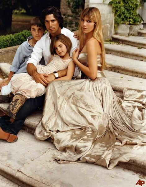 Nacho Figueras and family
