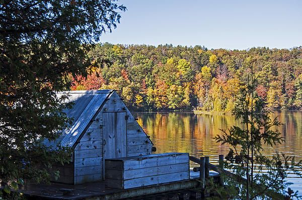 A floating cook shack to feed the lumbermen while floating the logs down the Au Sable river.