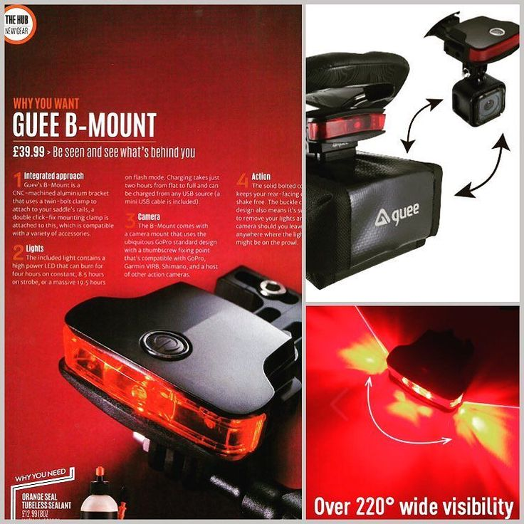 Be seen & see what's behind you! Smart Rear Mount solution for light action camera and saddle bag!  PRE-ORDER FOR X'MAS! GUEE online store  https://goo.gl/BTjCL8   #GUEE #bMount #actioncamera #saddlebag #Xmasgift @cyclingplus  https://youtu.be/J9ku1LMh8Ow #cycling #outdoors #biking #bike #cycle #bicycle #instagram #fun