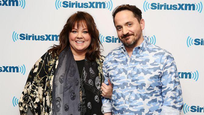 Melissa McCarthy and Ben Falcone June 2014
