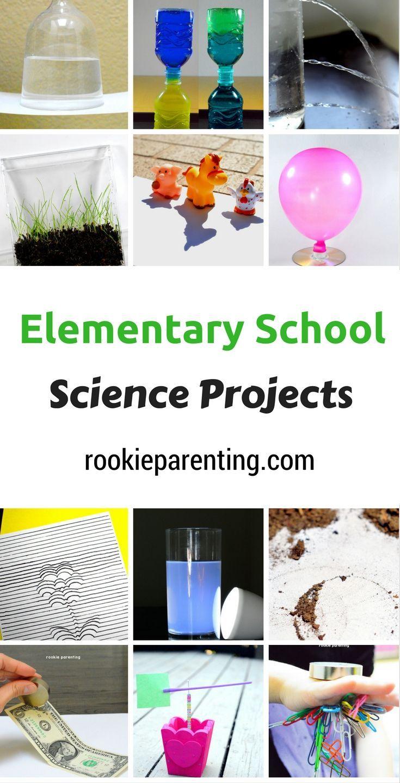 #Elementary School #ScienceProject #ScienceExperimentsIdeas