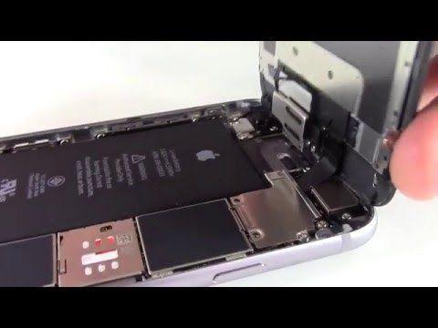 Tutoriel : Réparer l'écran d'un iPhone 6S - YouTube