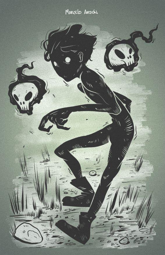 Oddspunk by Marcelo Ardón, via Behance                                                                                                                                                                                 More