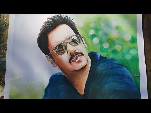 PS Art Gallery: Baadshaho movie teaser   Ajay Devgn   watercolour ...