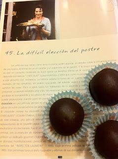 Las recetas de la familia Tartufo: Bombones de chocolate, avellana y pimienta