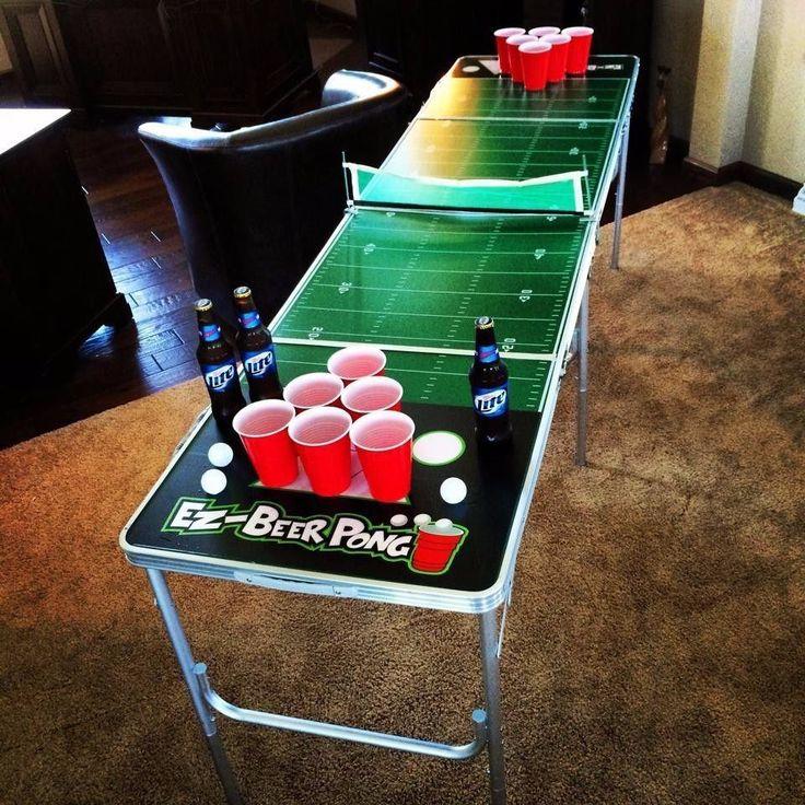 mesa de beer pong profesional 8 pies