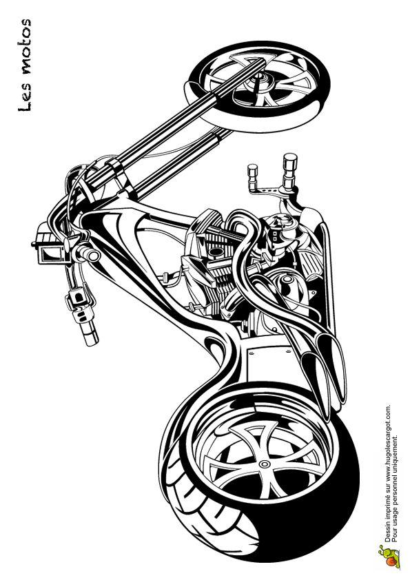 68 best Coloriages de motos et kartings images on