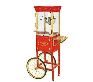 Nostalgia Electrics CCP-510 Circus Cart PopcornMaker