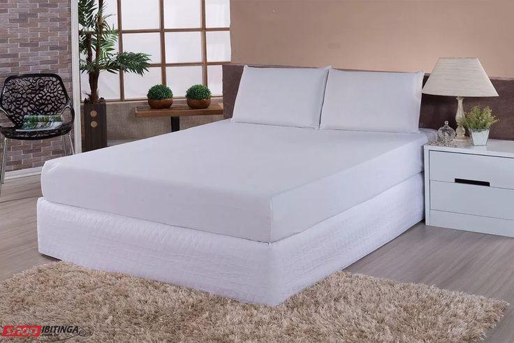 capa protetor de colchão impermeavel solteiro elastico 16alt