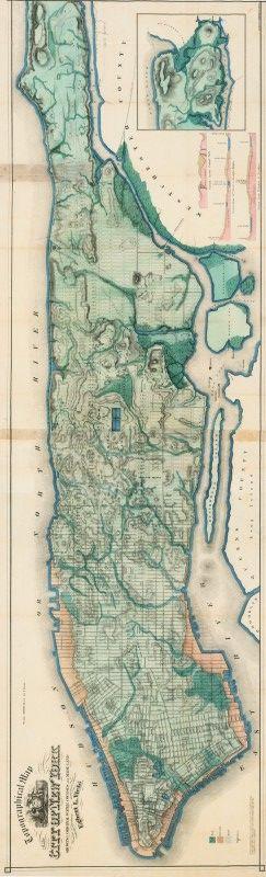 The Best Map Of Manhattan Ideas On Pinterest Map Of New York - Manhattan in us map
