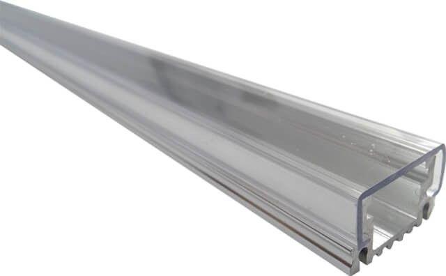 PROFIL ALUMINIU CLAR APLICAT 100CM si cu dispersorul transparent, asigura un iluminat puternic si un aspect ambiental placut.  Accesoriul se vinde cu toate componentele de montaj incluse.