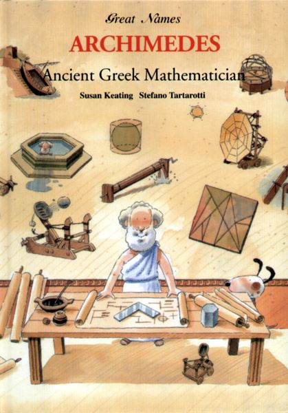 a biography of archimedes a greek mathematician Probably the best mathematician of antiquity was a greek biographer and author whose works influenced the evolution of the essay, the biography, even into our own times archimedes 3 greatly saddened by this and arranged for archimedes' burial.
