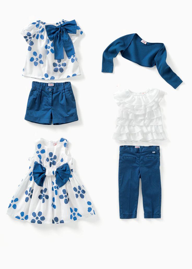 #Fashion #children #kids #kidswear #girls #summer #spring #floral #ilgufo #ilgufosummercolors #ss14