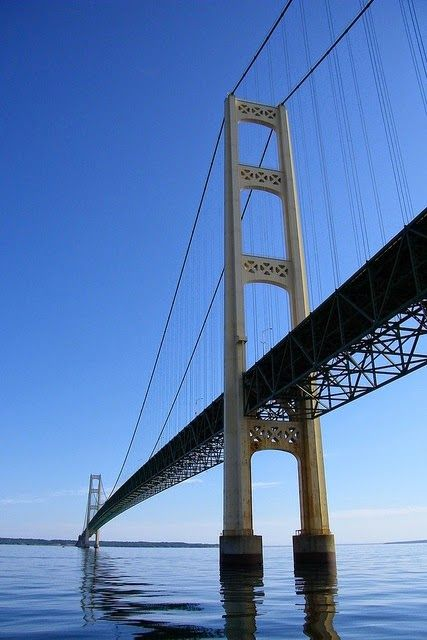 Mackinac Bridge - Vertical Destinations www.facebook.com/loveswish