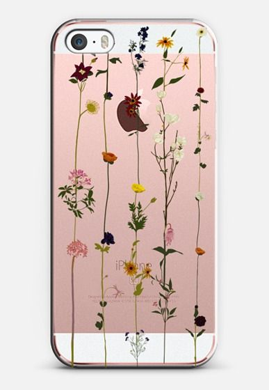 Floral iPhone SE case by Vicky Webb | Casetify