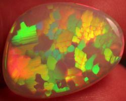 rainbow rocks geology crystals minerals opal iridescent mineralogy opals Mineraloid