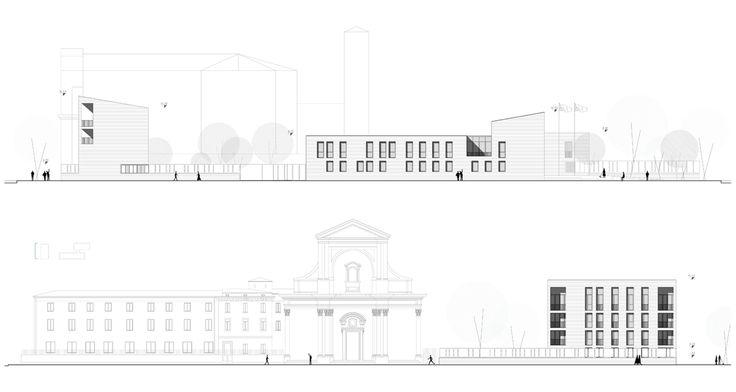 OPERASTUDIO - Project - CityLIfe Police Station - Elevations #Milan #Public spaces #fiera