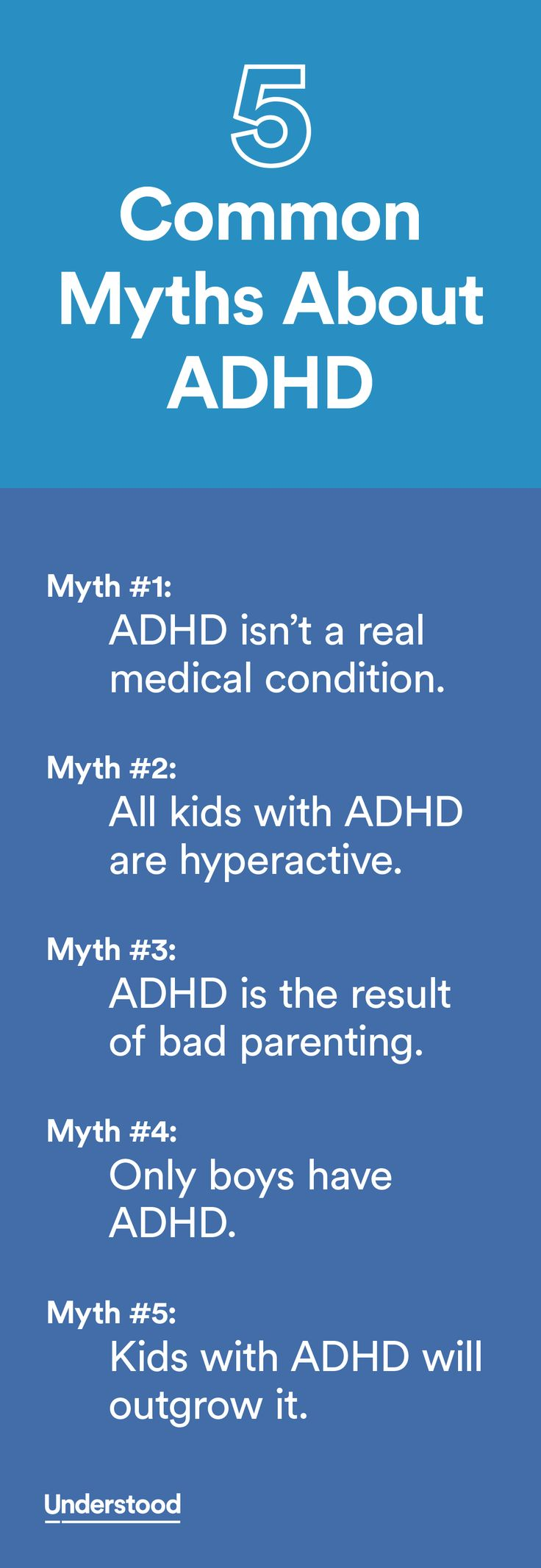 Adhd adult misconception