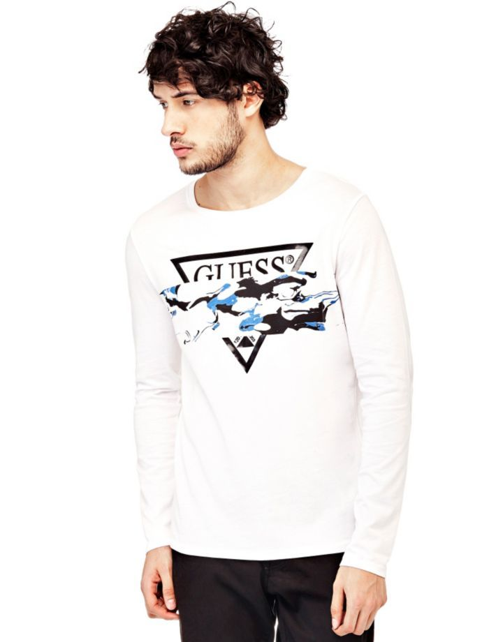 EUR29.90$  Watch here - http://viaoe.justgood.pw/vig/item.php?t=qv7uxj144364 - T-SHIRT WITH ABSTRACT LOGO PRINT