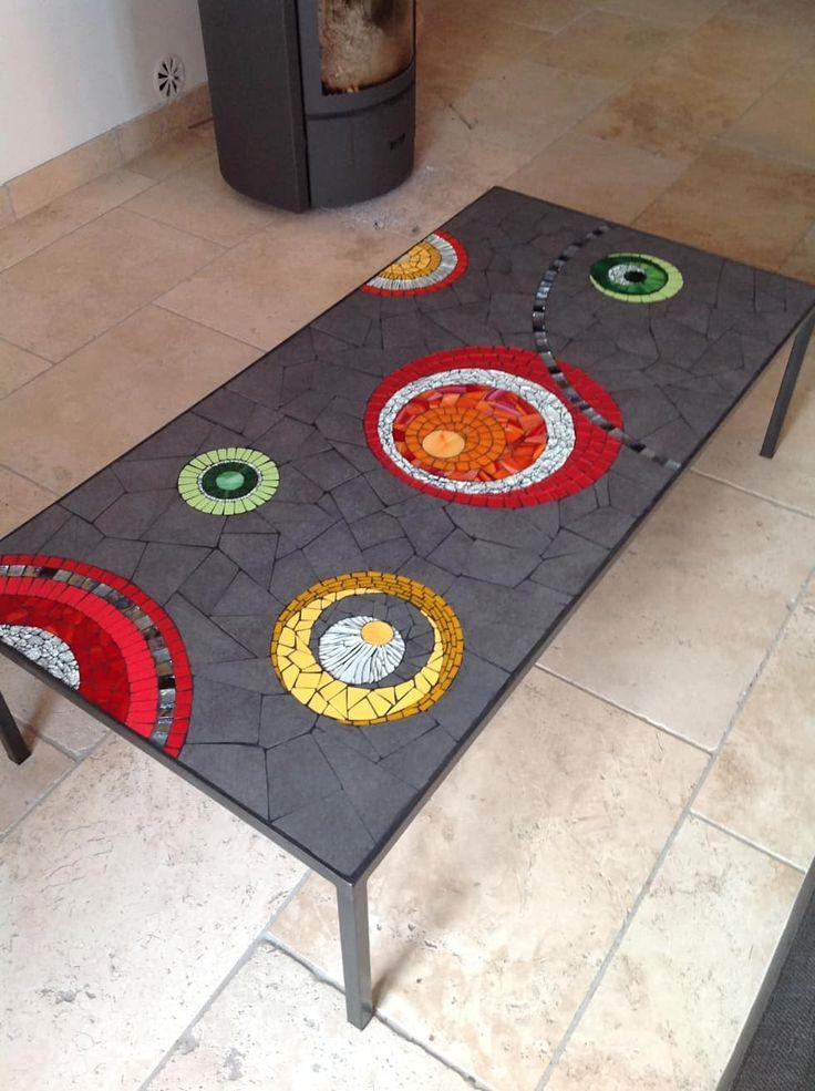 25 unique mosaic table tops ideas on pinterest mosiac. Black Bedroom Furniture Sets. Home Design Ideas