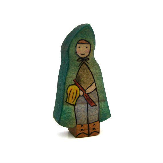 Lantern Child - Waldorf Toy - Woodland Toy - Wood Toy on Etsy, $10.77 CAD