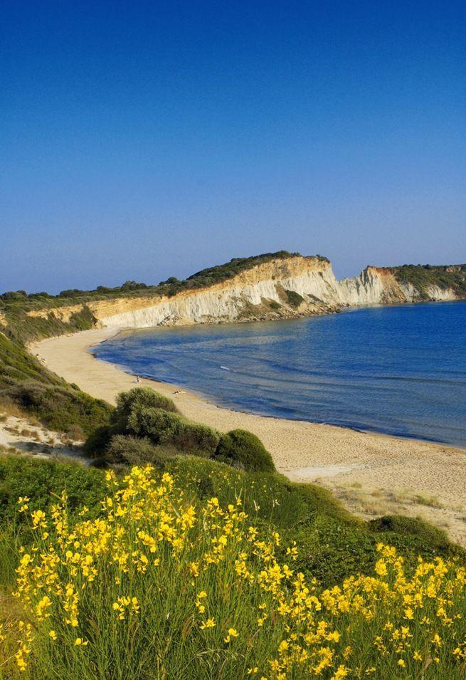 Gerakas beach, Zakynthos island, Greece