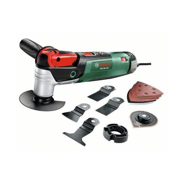 Was £179.99 > Now £126.95.  Save 29% off Bosch PMF 250 CES All-Rounder Power Tool with Accessories #1StarDeal, #GardenHandTools, #HandTools, #Multitools, #MultitoolsAccessories, #Power, #Under250