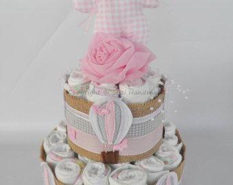 44 best baby shower images on pinterest diaper cakes diapers and diaper cake pink diaper cakesbusiness cardsdiaperslipsense reheart Choice Image