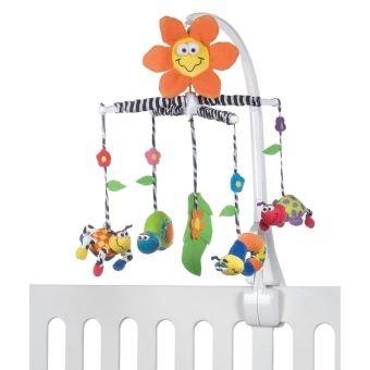 บอกต่อ  Playgro โมบายผ้า Amazing Garden Musical Mobile (หลากสี)  ราคาเพียง  899 บาท  เท่านั้น คุณสมบัติ มีดังนี้ ตุ๊กตามีความอ่อนนุ่ม มีเสียงเพลง ฝึกทักษะการเรียนรู้