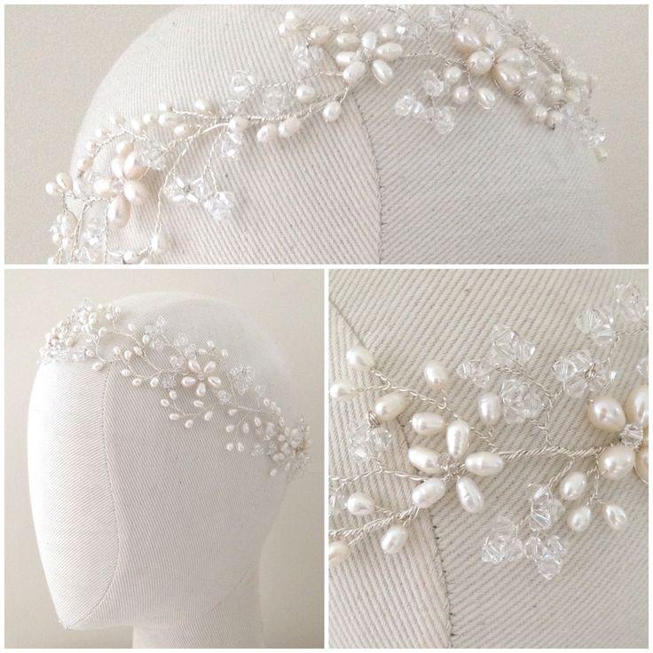 The Persephone Headdress | http://www.hermioneharbutt.com/wedding/