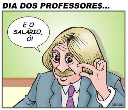 Dia dos professores | Humor Político