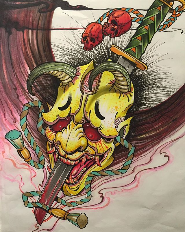 Top Free Oni Irezumi Backgrounds: 17 Best Images About Tattoos On Pinterest