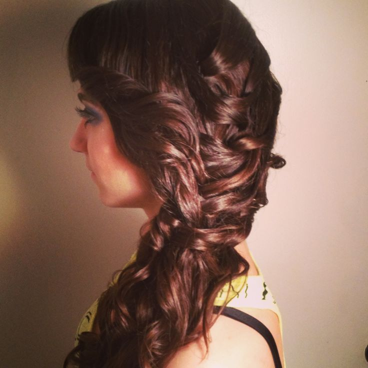 Brilliant Cool Hairstyle 2014 Curly Hairstyles For Prom With Braid Short Hairstyles Gunalazisus