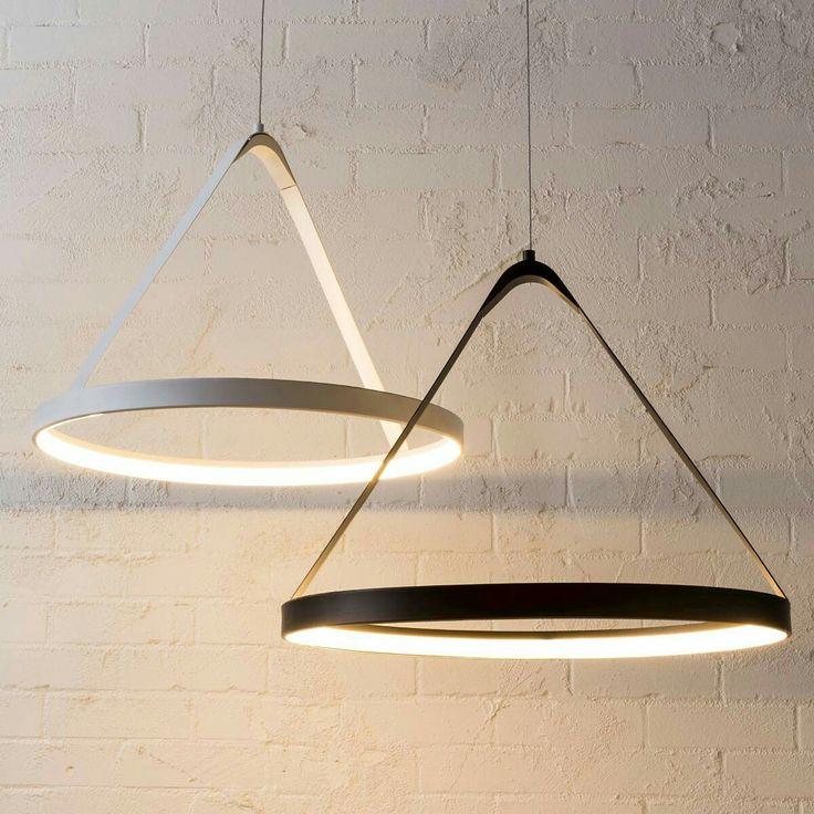 LED Pendant Light White Modern by